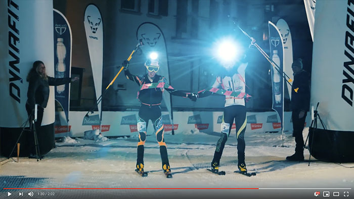 Sellaronda Skimarathon first video